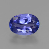 thumb image of 1.3ct Oval Facet Violet Blue Tanzanite (ID: 348062)