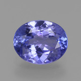 thumb image of 1.6ct Oval Facet Violet Blue Tanzanite (ID: 348068)