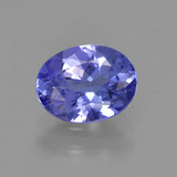 thumb image of 1.3ct Oval Facet Violet Blue Tanzanite (ID: 348163)