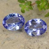 thumb image of 3.4ct Oval Facet Violet Blue Tanzanite (ID: 348175)