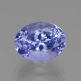thumb image of 2.2ct Oval Facet Violet Blue Tanzanite (ID: 360389)