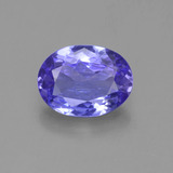 thumb image of 1.4ct Oval Facet Violet Blue Tanzanite (ID: 361639)