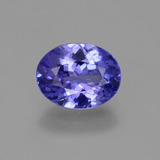 thumb image of 1.6ct Oval Facet Violet Blue Tanzanite (ID: 374290)
