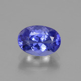 thumb image of 1.1ct Oval Facet Violet Blue Tanzanite (ID: 374702)