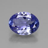 thumb image of 1.4ct Oval Facet Violet Blue Tanzanite (ID: 377646)
