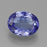 thumb image of 1.8ct Oval Facet Violet Blue Tanzanite (ID: 382081)
