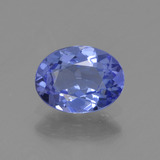 thumb image of 0.8ct Oval Facet Violet Blue Tanzanite (ID: 398497)