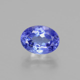 thumb image of 1.8ct Oval Facet Violet Blue Tanzanite (ID: 398609)
