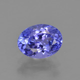thumb image of 1.3ct Oval Facet Violet Blue Tanzanite (ID: 398656)