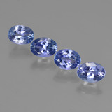 thumb image of 3.8ct Oval Facet Violet Blue Tanzanite (ID: 411223)