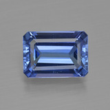 thumb image of 3.3ct Octagon Facet Violet Blue Tanzanite (ID: 411921)