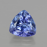 thumb image of 3.1ct Trillion Facet Violet Blue Tanzanite (ID: 412121)
