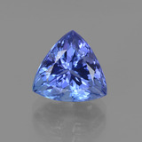 thumb image of 3.5ct Trillion Facet Violet Blue Tanzanite (ID: 412141)