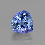 thumb image of 3.4ct Pear Facet Violet Blue Tanzanite (ID: 412143)