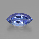 thumb image of 3ct Marquise Facet Violet Blue Tanzanite (ID: 412146)