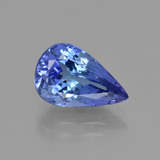 thumb image of 3.5ct Pear Facet Violet Blue Tanzanite (ID: 412147)