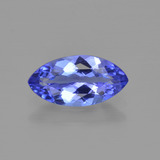 thumb image of 1ct Marquise Facet Violet Blue Tanzanite (ID: 412419)