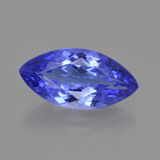 thumb image of 3.9ct Marquise Facet Violet Blue Tanzanite (ID: 412462)