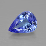 thumb image of 3.1ct Pear Facet Violet Blue Tanzanite (ID: 412524)