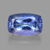 thumb image of 4.2ct Cushion-Cut Violet Blue Tanzanite (ID: 412528)