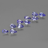 thumb image of 1.6ct Pear Facet Violet Blue Tanzanite (ID: 412598)
