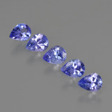 thumb image of 1.5ct Pear Facet Violet Blue Tanzanite (ID: 412928)