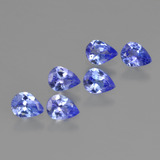 thumb image of 1.5ct Pear Facet Violet Blue Tanzanite (ID: 412985)