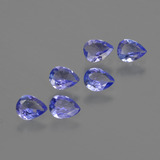 thumb image of 1.5ct Pear Facet Violet Blue Tanzanite (ID: 412987)
