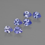 thumb image of 1.5ct Pear Facet Violet Blue Tanzanite (ID: 413079)