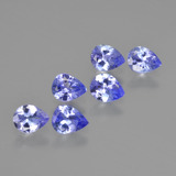 thumb image of 1.7ct Pear Facet Violet Blue Tanzanite (ID: 413082)
