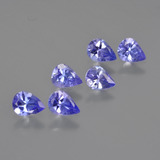 thumb image of 1.7ct Pear Facet Violet Blue Tanzanite (ID: 413084)