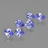 thumb image of 2ct Pear Facet Violet Blue Tanzanite (ID: 413085)