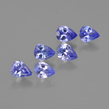 thumb image of 1.7ct Pear Facet Violet Blue Tanzanite (ID: 413089)