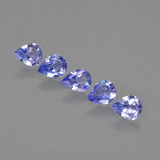 thumb image of 1.4ct Pear Facet Violet Blue Tanzanite (ID: 413139)