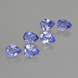 thumb image of 1.5ct Pear Facet Violet Blue Tanzanite (ID: 413365)