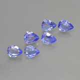 thumb image of 1.3ct Pear Facet Violet Blue Tanzanite (ID: 413367)