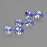 thumb image of 1.7ct Pear Facet Violet Blue Tanzanite (ID: 413370)