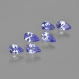 thumb image of 1.2ct Pear Facet Violet Blue Tanzanite (ID: 413491)