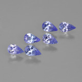 thumb image of 1.4ct Pear Facet Violet Blue Tanzanite (ID: 413492)