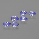 thumb image of 1.2ct Pear Facet Violet Blue Tanzanite (ID: 413497)