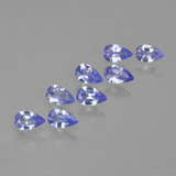 thumb image of 1.6ct Pear Facet Violet Blue Tanzanite (ID: 413542)