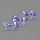 thumb image of 1.4ct Pear Facet Violet Blue Tanzanite (ID: 413626)