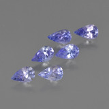 thumb image of 1.3ct Pear Facet Violet Blue Tanzanite (ID: 413793)