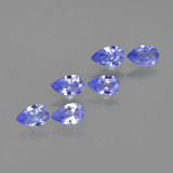 thumb image of 1.2ct Pear Facet Violet Blue Tanzanite (ID: 413797)