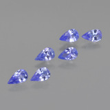 thumb image of 1.3ct Pear Facet Violet Blue Tanzanite (ID: 413799)