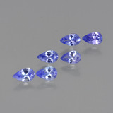 thumb image of 1.3ct Pear Facet Violet Blue Tanzanite (ID: 413801)