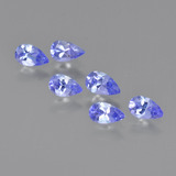 thumb image of 1.4ct Pear Facet Violet Blue Tanzanite (ID: 413802)