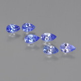 thumb image of 1.3ct Pear Facet Violet Blue Tanzanite (ID: 413804)
