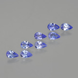 thumb image of 1.3ct Pear Facet Violet Blue Tanzanite (ID: 413895)