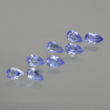 thumb image of 1.6ct Pear Facet Violet Blue Tanzanite (ID: 413896)
